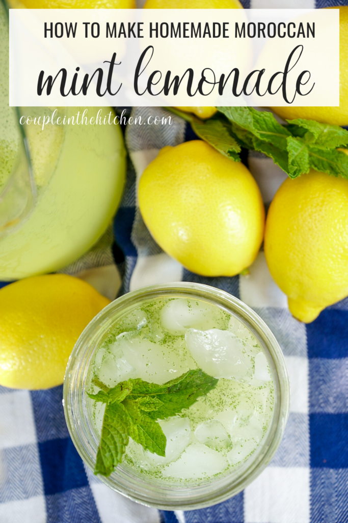 How to Make Homemade Moroccan Mint Lemonade