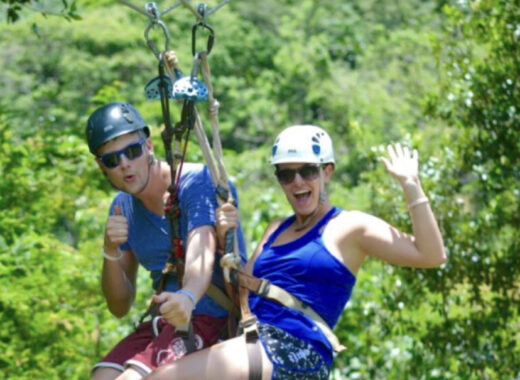 Ziplining Date Idea - List of date ideas