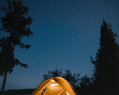 Camping Date - Big list of date ideas