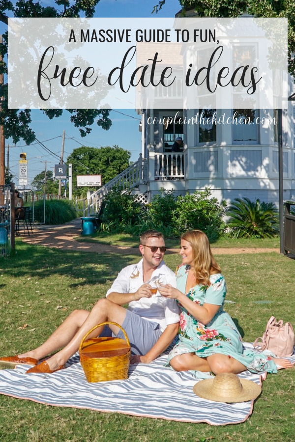 Fun, Free Date Ideas | coupleinthekitchen.com