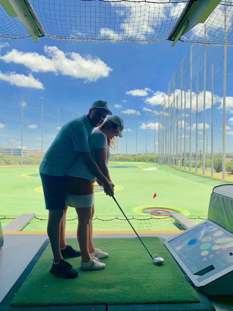 Top Golf Date Idea - List of Fun Date Ideas