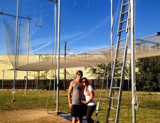 Trapeze Date - List of Fun Date Ideas