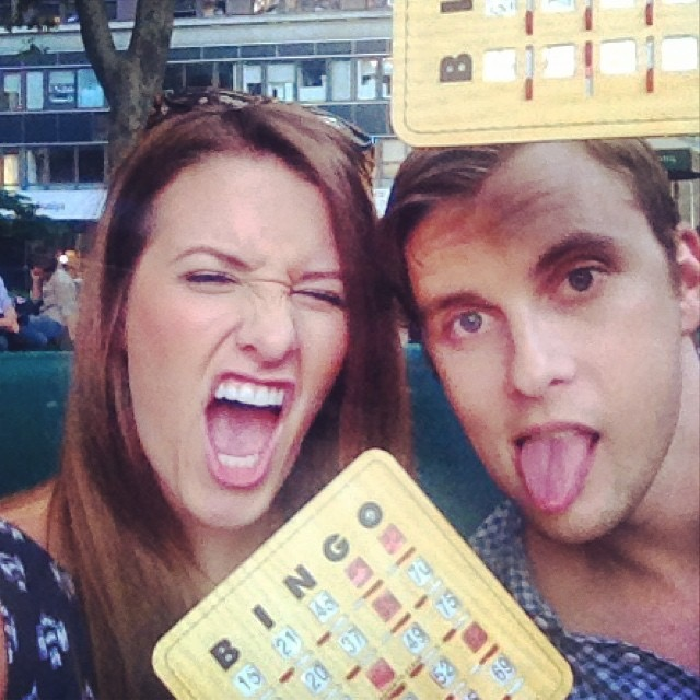 Bingo date - list of cheap date nights