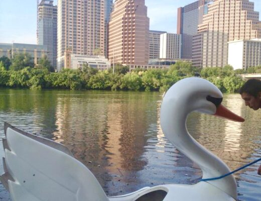 Paddle Boat Date - Cheap date idea list