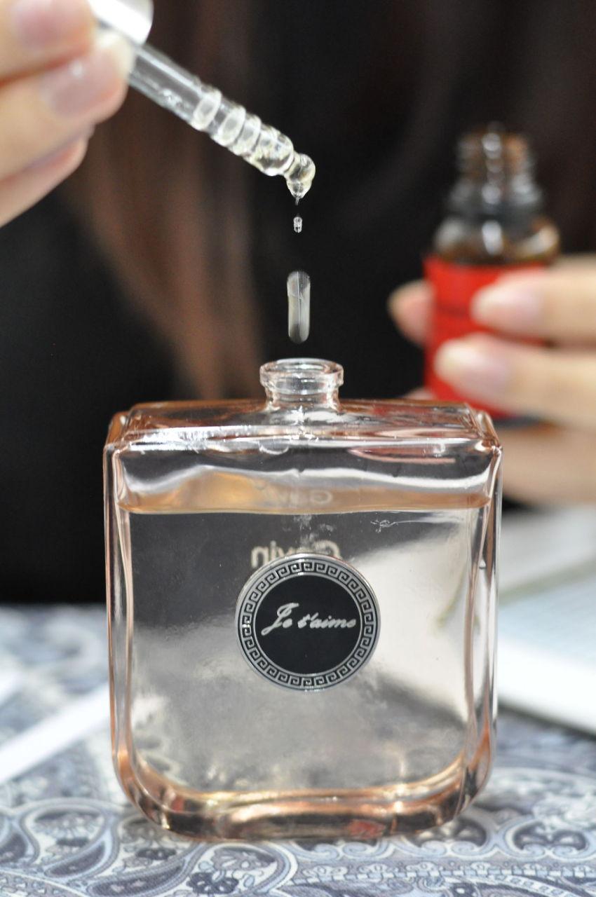 Custom fragrance date idea - list of date nights
