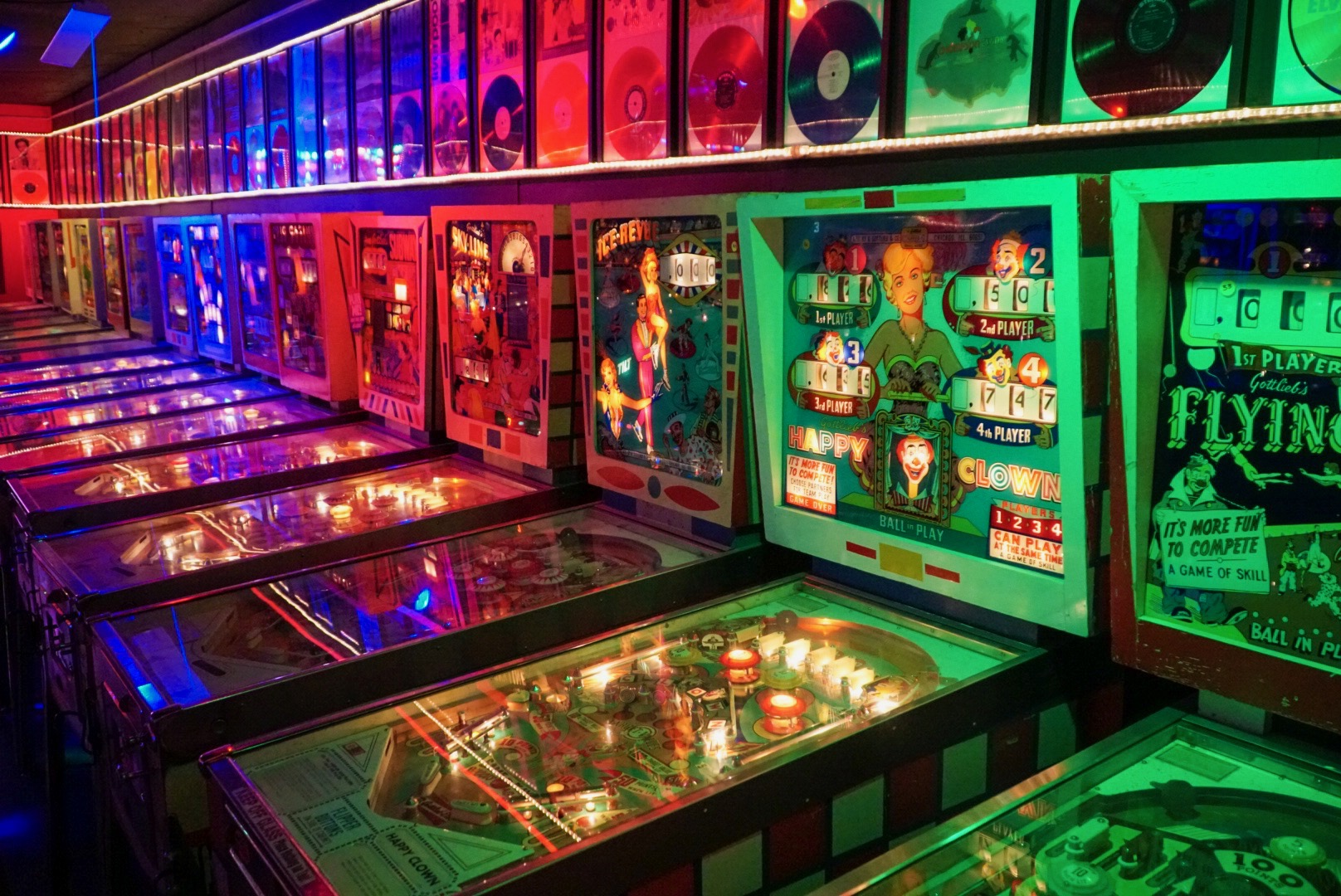 Pinball Date Idea - List of Cheap Date Ideas