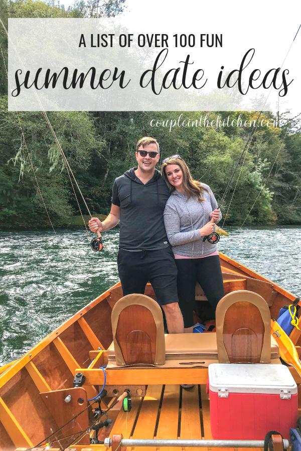 100+ Summer Date Ideas | coupleinthekitchen.com