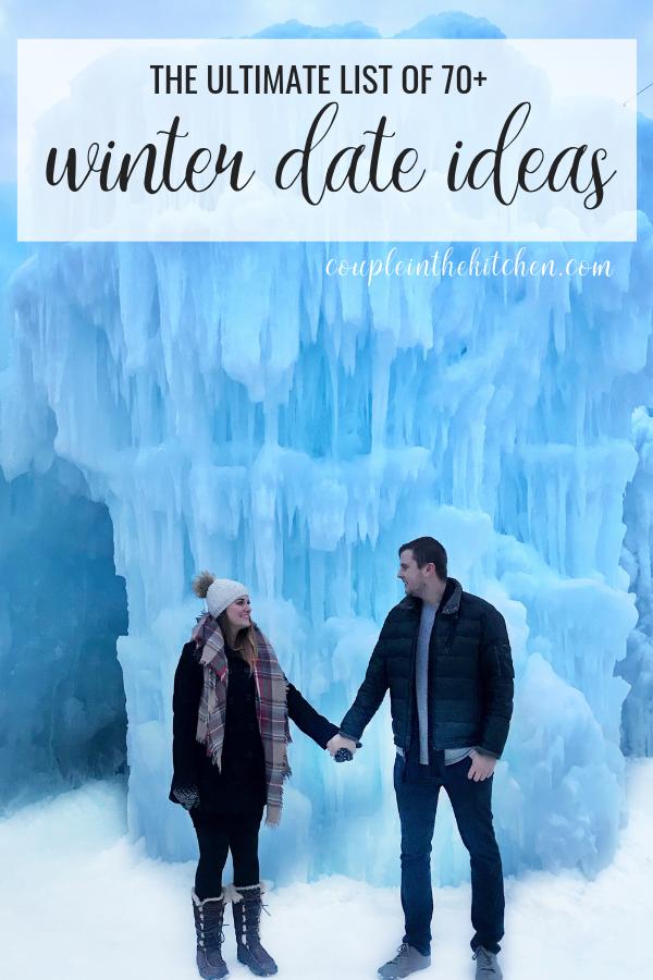 Massive list of Winter Date Ideas | coupleinthekitchen.com