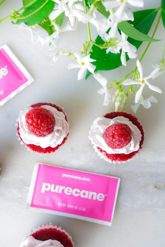 Keto Friendly Raspberry Mini Cheesecake Recipe