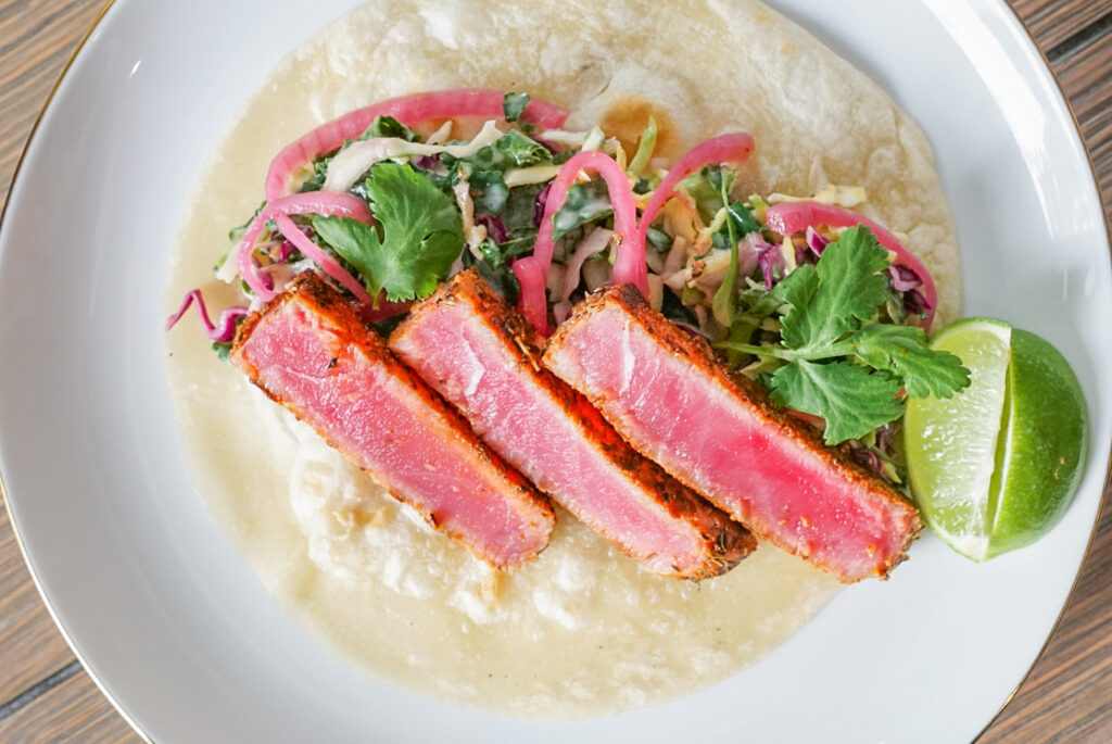 Blackened Tuna Taco Recipe