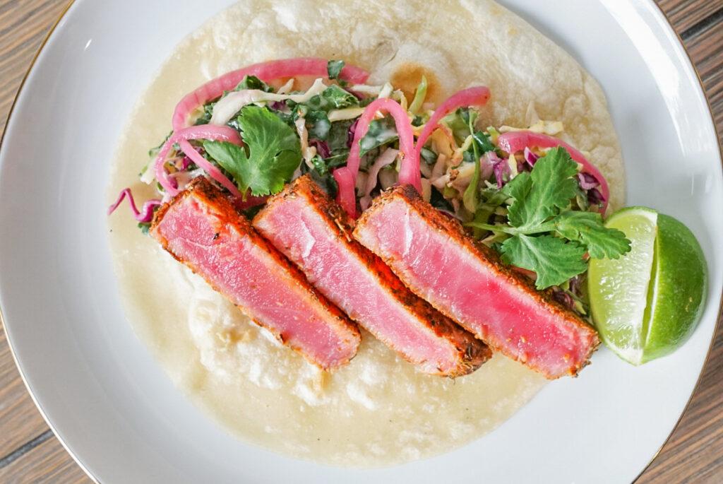 Blackened Tuna Taco Recipe
