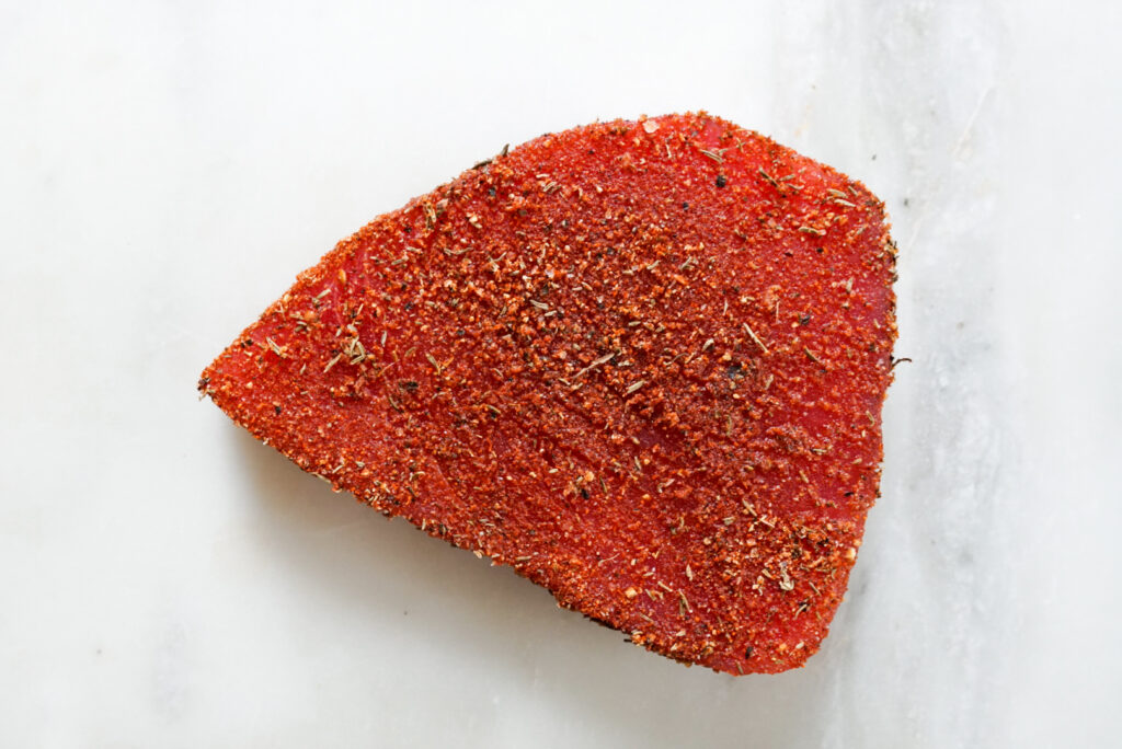 Blackened Tuna Rub