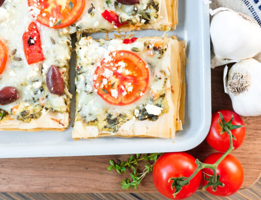 Greek pizza recipe