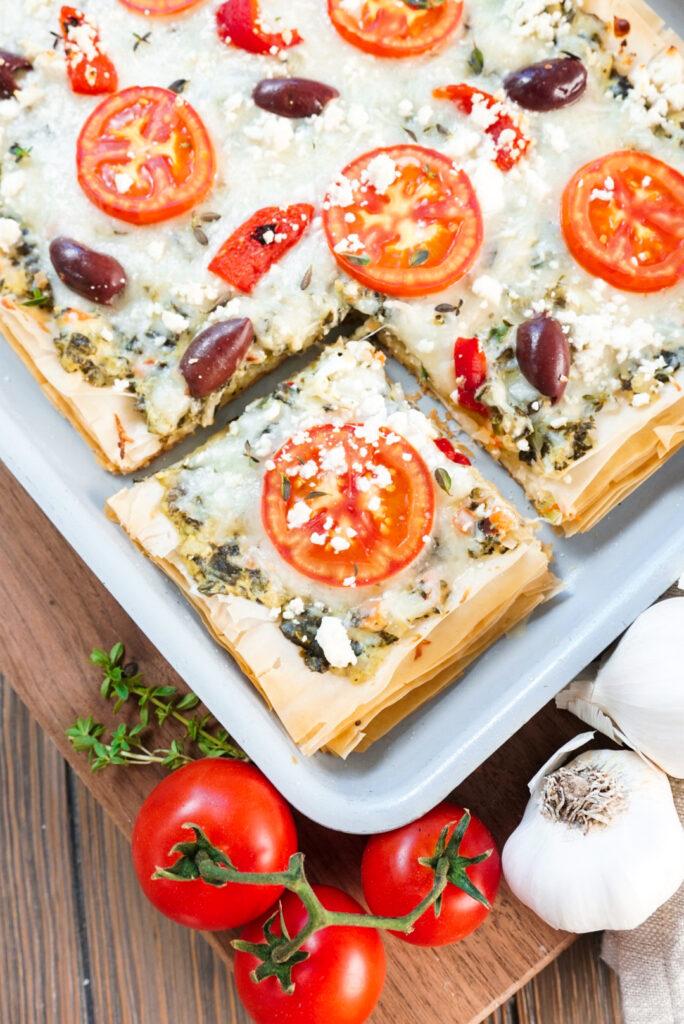 Greek Pizza Recipe
