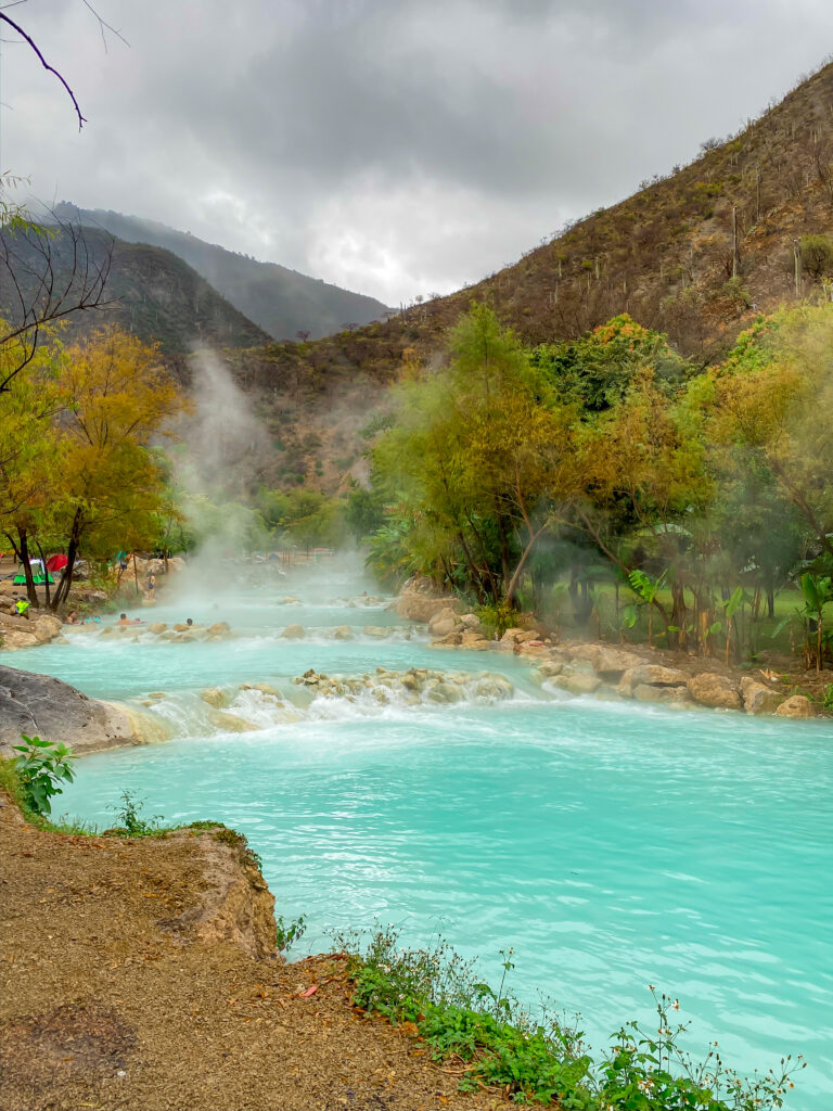 Mexico's hot springs
