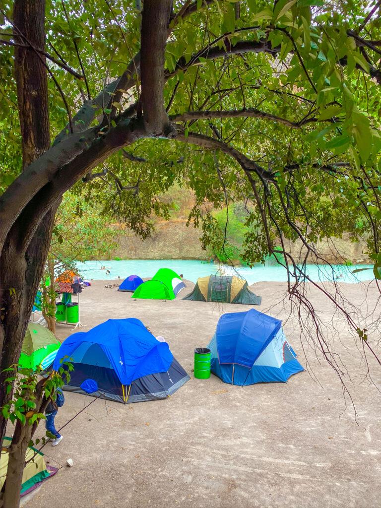 Camping at Tolantongo