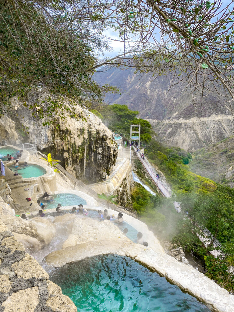 Mexico's Amazing Cliffside Hot Springs