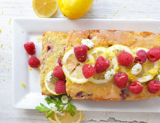 Raspberry Lemon Sugar Free Cake Recipe