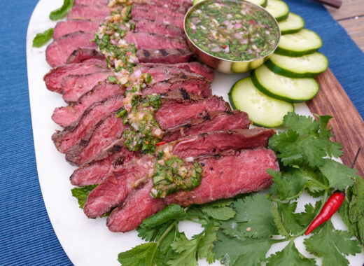 Crying Tiger Flat Iron Steak Marinade Recipe