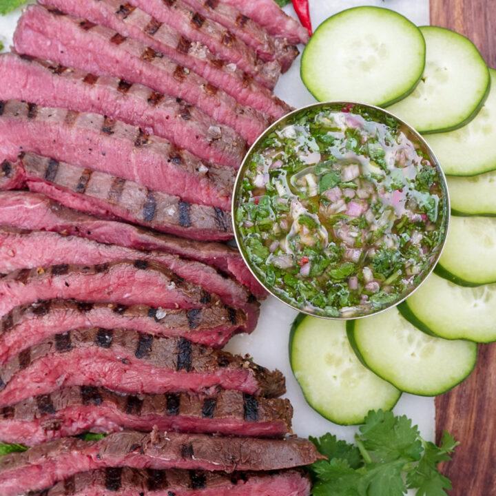 Crying Tiger Flat Iron Steak Recipe