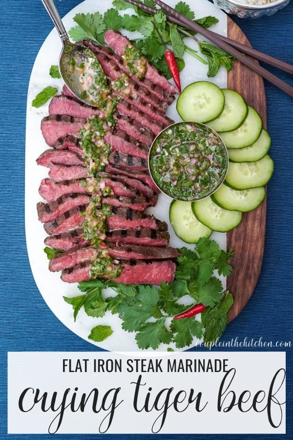 Flat Iron Steak Marinade - Thai Crying Tiger Beef
