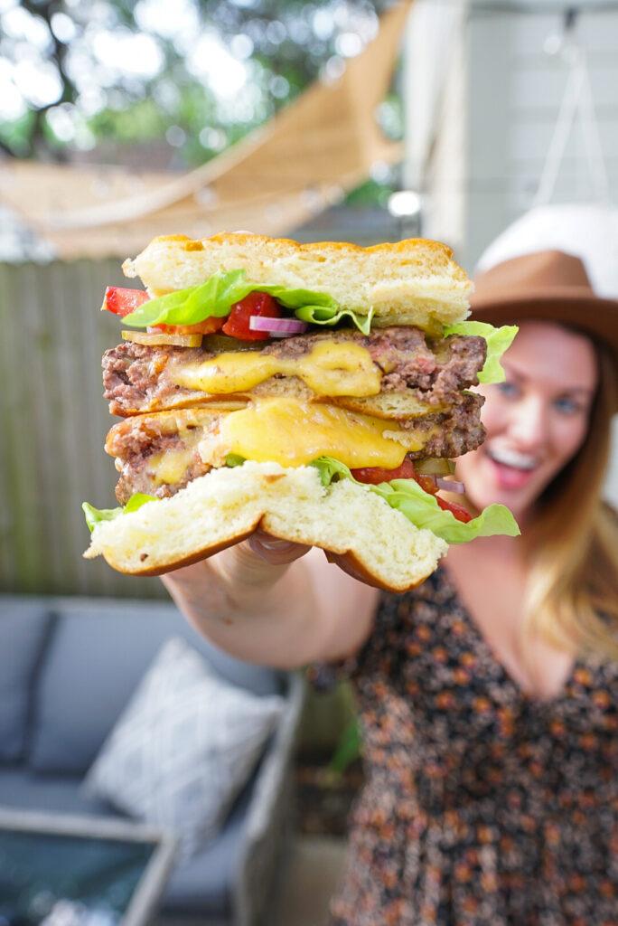 Juicy Lucy Burger Recipe