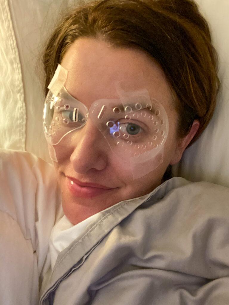 Eye protectors after lasik