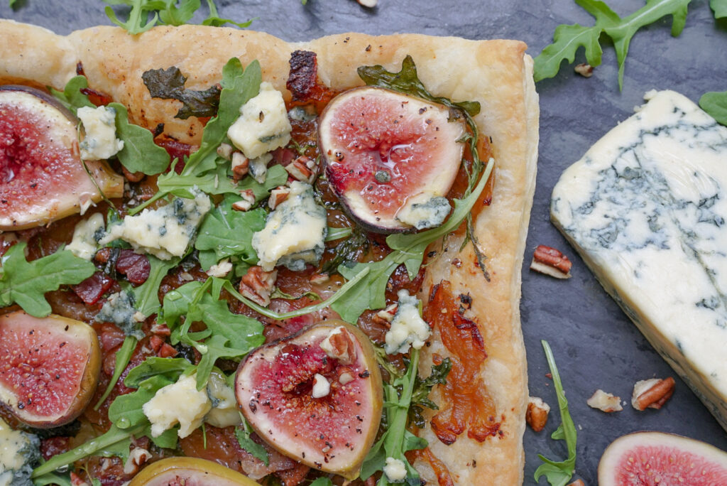 Puff Pastry Fig Tart