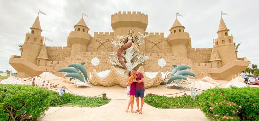 Corpus Christi Sandcastle Sculpture