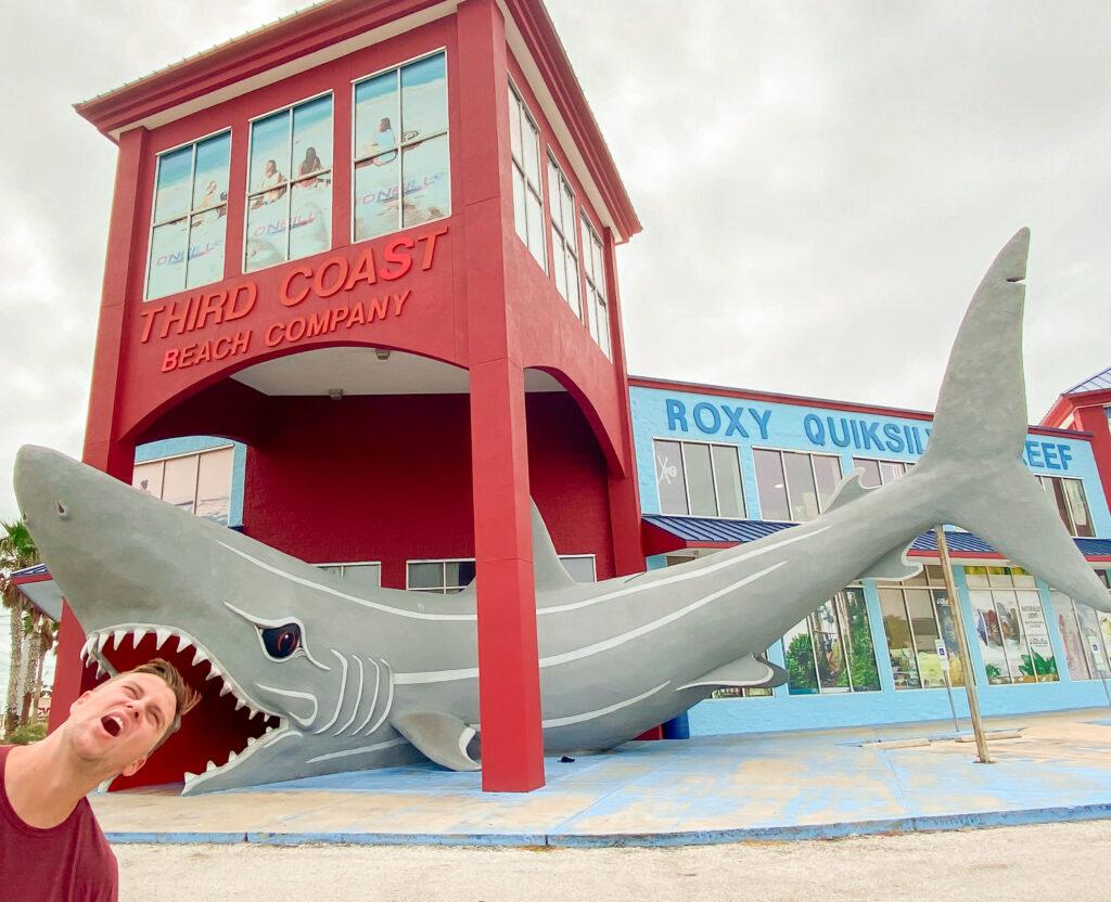 Corpus Christi Shark Sculpture