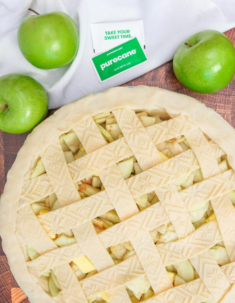 Sugar free apple pie recipe