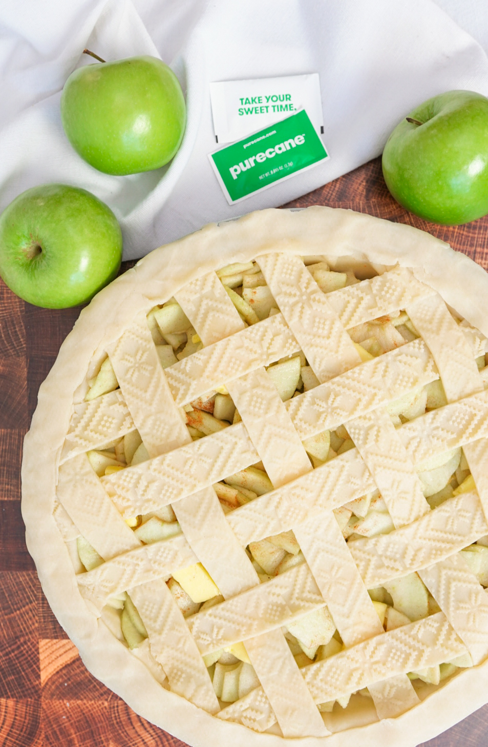 Sugar free apple pie