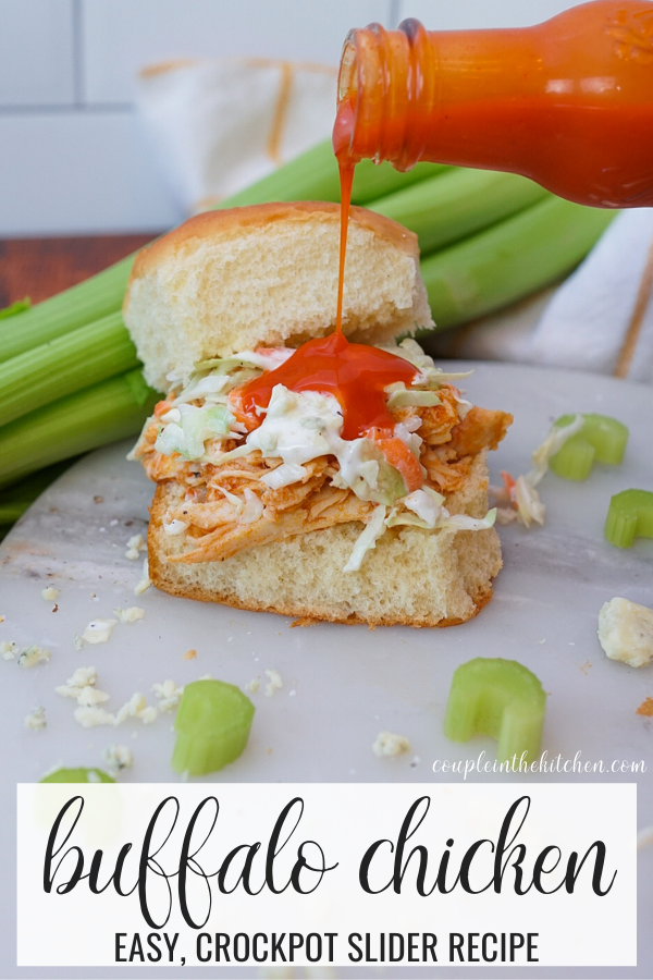 Crockpot Buffalo Chicken Sliders Recipe