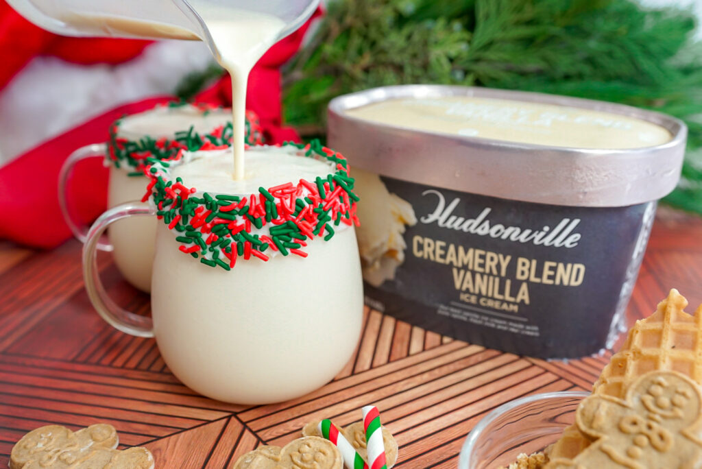 Eggnog Milkshake Recipe
