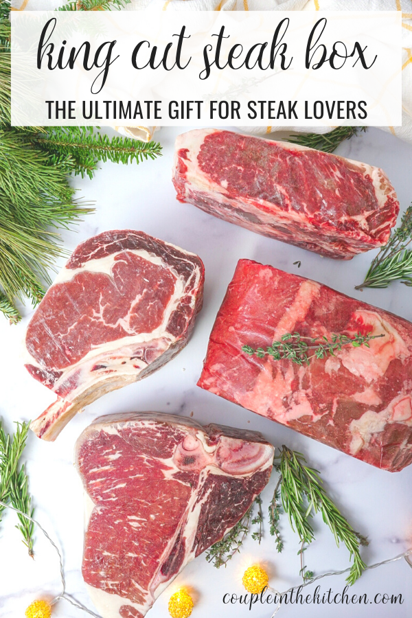 Holiday Gift Basket Loaded with HUGE Steaks - Gifts for Him