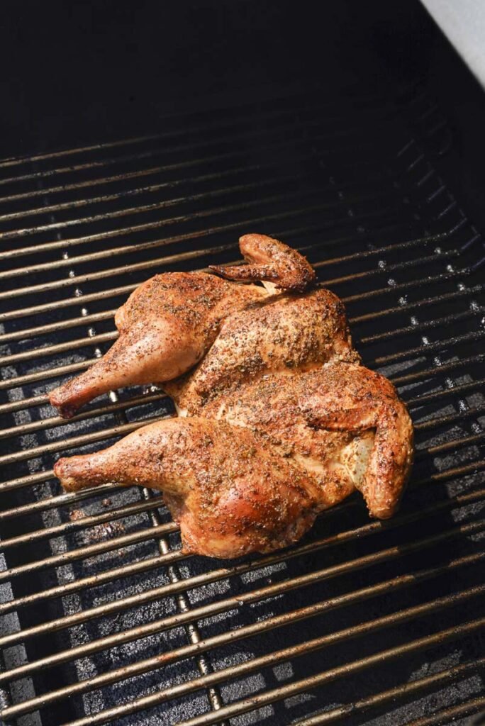 Smoked Spatchcock Chicken