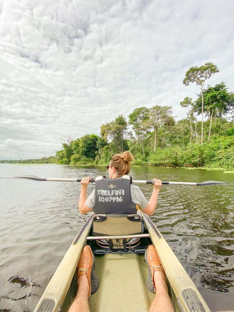 Amazon River Cruise Kayaking