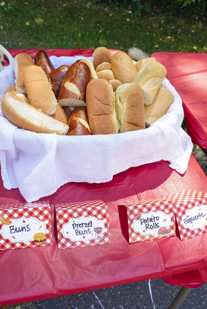 Hot Dog Bar Buns