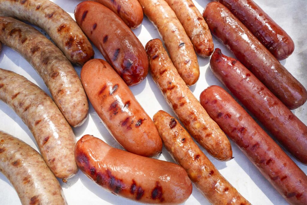 Hot Dog Bar Sausages