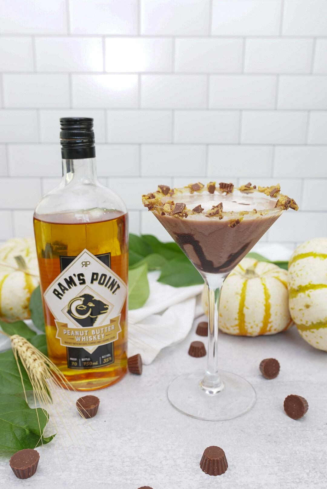 Peanut Butter Whiskey Cocktail