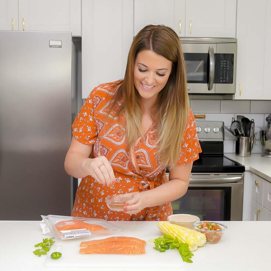 BBQ Salmon Tacos Recipe