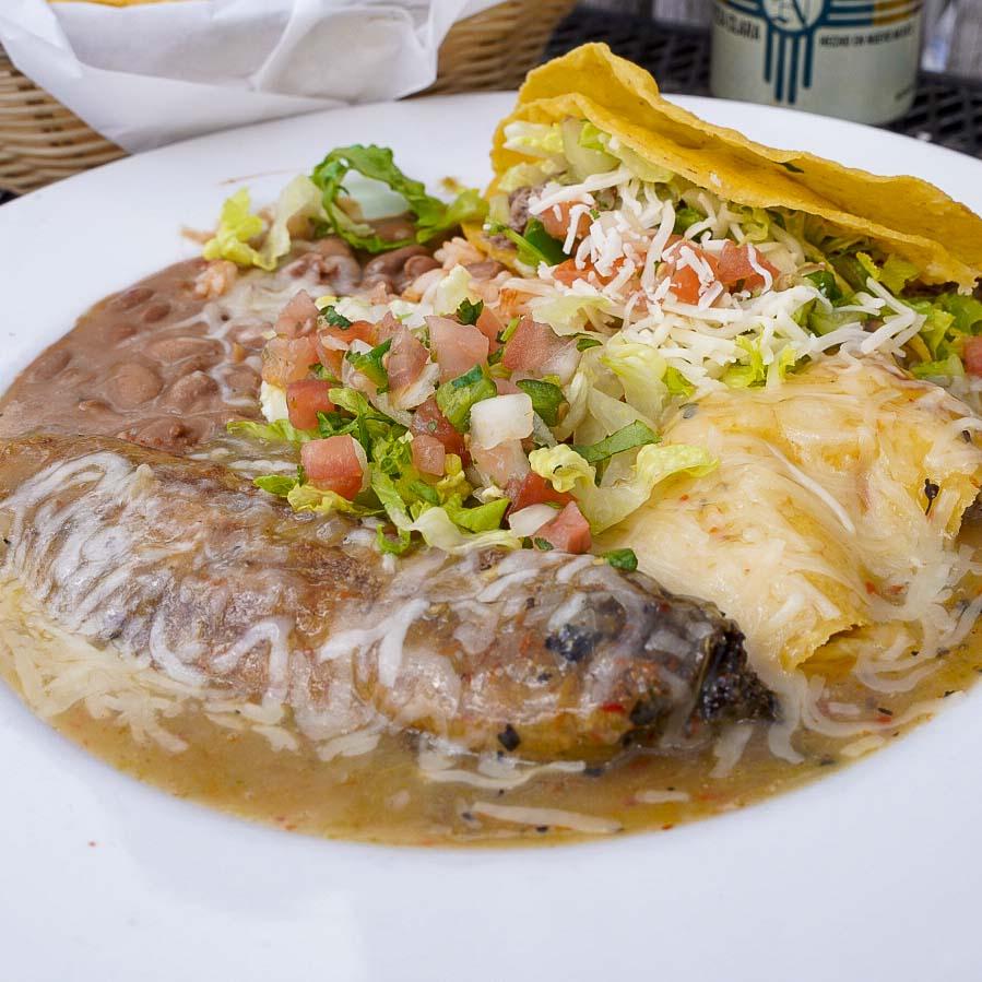 Taos New Mexico Food