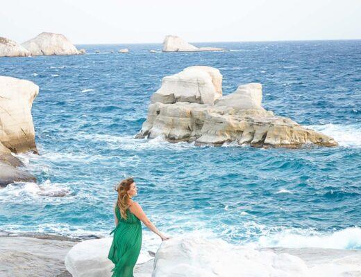 Sarakiniko Milos Greece